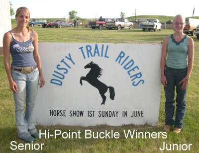 Hi-Point Buckle winners